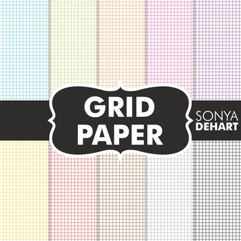Digital Papers - Grid Papers