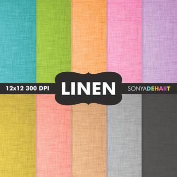 Digital Papers - Linen