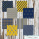 Digital Paper Pack | Navy and Yellow Collection | Clipart for TpT Sellers