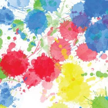 Digital Paper Pack - Paint Splat 2 -  ZisforZebra