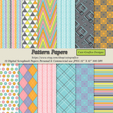 Digital Paper Pack Personal and Commercial Use,Digital Pap