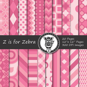 Digital Paper Pack Pinks1 - CU ok { ZisforZebra}