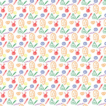 Digital Papers - Rainbow Brights