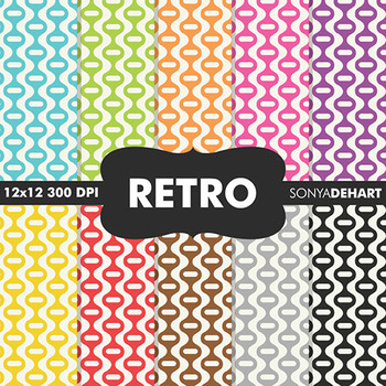 Digital Papers - Retro