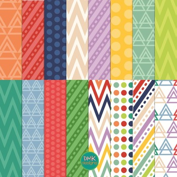 Digital Paper Pack- Spring