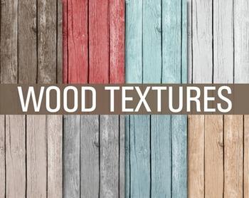 Digital Papers - Wood Textures