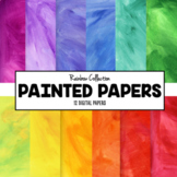 Digital Paper- Painted Papers