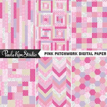 Digital Paper - Patchwork