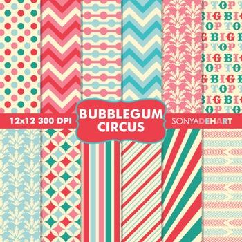 Digital Papers - Bubblegum Circus