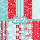 Digital Papers - Winter Wonderland