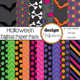 Digital Paper / Patterns: Halloween