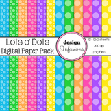 Digital Paper / Patterns: Lots o' Dots