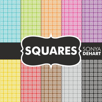 Digital Papers - Squares