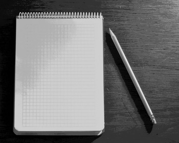 Digital Paper - Pencil and Pad on a Desk