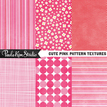 Digital Paper - Pink Mod