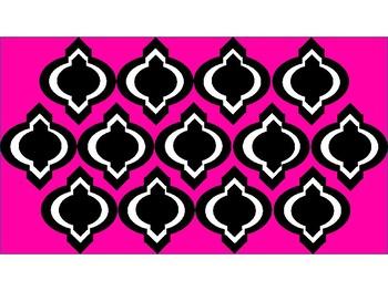 Digital Paper - Pink Moroccan
