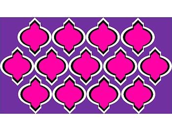 Digital Paper - Pink & Purple Moroccan