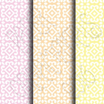 Digital Paper:  Pretty Pastels 10