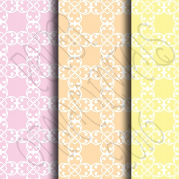 Digital Paper:  Pretty Pastels 2