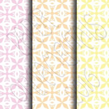 Digital Paper:  Pretty Pastels 3
