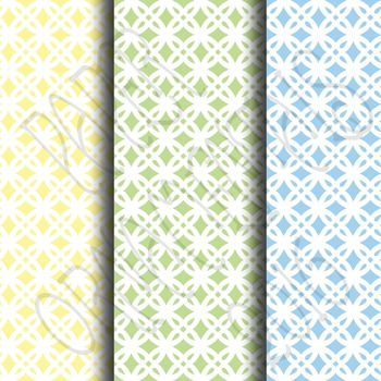 Digital Paper:  Pretty Pastels 6