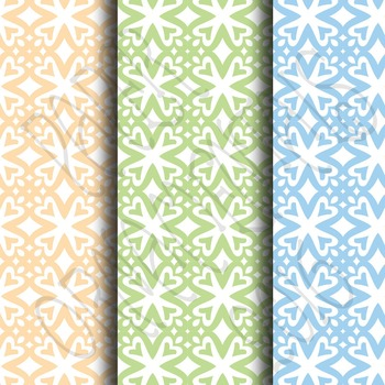 Digital Paper:  Pretty Pastels 8