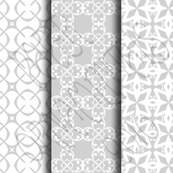 Digital Paper: Pretty Pastels Gray Set 1