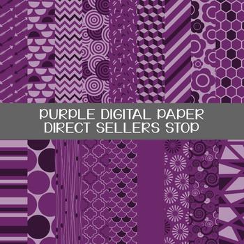 Digital Paper Purple Background Clip Art