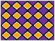 Digital Paper - Purple & Orange-Gold Moroccan