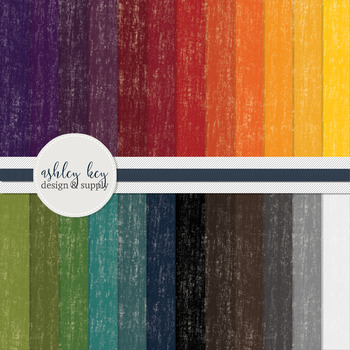Digital Paper- Rainbow Painted Papers- Commercial Use Pape