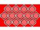 Digital Paper - Red & Coral Moroccan