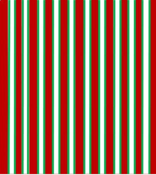 Digital Paper Red and Green Stripes