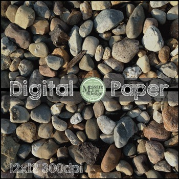 Digital Paper Rock Background Texture {Messare Clips and Design}
