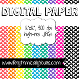 Digital Paper - Scallopped Patterns