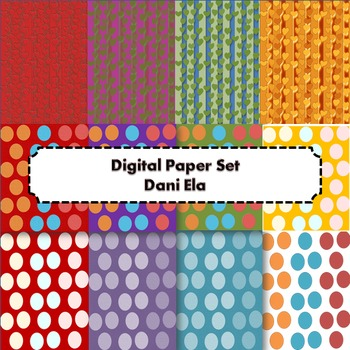 Digital Paper Set