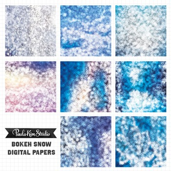 Digital Paper - Snow