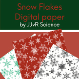 Digital Paper - Snow Flakes