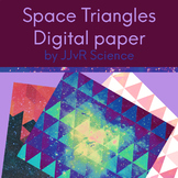 Digital Paper - Space Triangles
