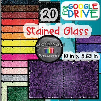 Digital Paper - Stained Glass