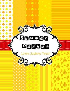 Digital Paper: Summer Packet