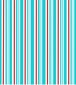 Digital Paper Teal and Red Stripes