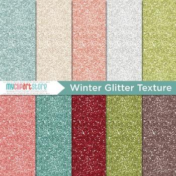 Digital Paper Texture - Glitter Texture (Winter / Christmas)