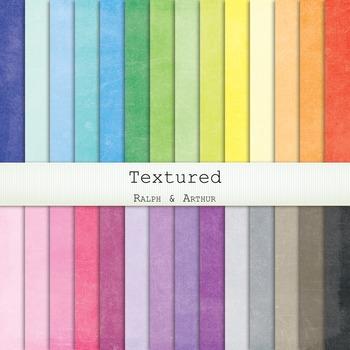 Digital Paper -  Textured Solids Digital Paper