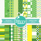Digital Paper- The Patty's Day Edition