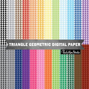 Digital Paper - Triangles