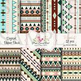 Digital Paper - Tribal paper background 2