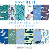 Digital Paper: Under The Sea