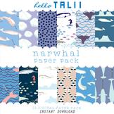 Digital Paper: Narwhals