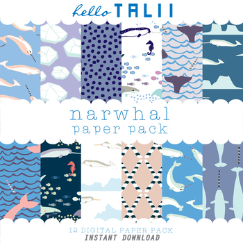 Digital Paper: Narwhals