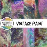Digital Paper- Vintage Paint